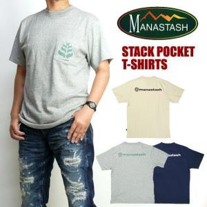 セール MANASTASH マナスタッシュ メンズ Tシャツ ヘンプ 半袖ポケットTシャツ STACK POCKET 7173101|sanshin