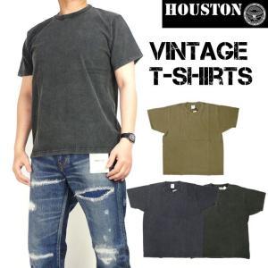 HOUSTON ヒューストン メンズ Tシャツ 半袖ビンテージTシャツ 21465|sanshin