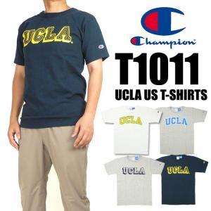 Champion チャンピオン メンズ Tシャツ T1011 UCLA ヘビーウェイトTシャツ 半袖Tシャツ MADE IN USA 送料無料 C5-M303|sanshin