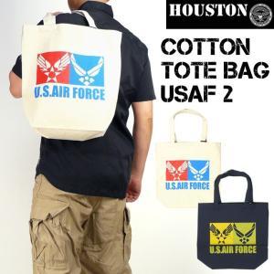 HOUSTON ヒューストン トートバッグ USAF2 6735|sanshin