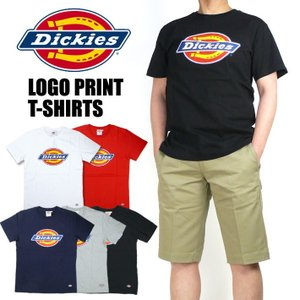 DICKIES ディッキーズ メンズ Tシャツ ロゴプリント 半袖Tシャツ DK006026|sanshin
