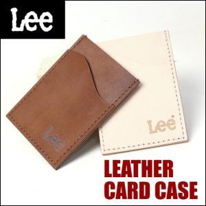 Lee リー レザー パスケース メンズ レディース パスケース 定期入れ LA0212|sanshin