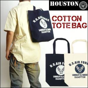 HOUSTON ヒューストン トートバッグ US AIR FORCE 6622|sanshin