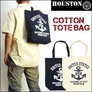HOUSTON ヒューストン トートバッグ US NAVY 6623|sanshin
