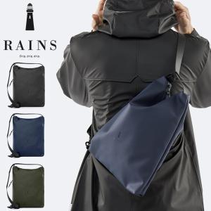Sling Bag  デンマーク生まれのブランドRAINSより、軽く高い防水力を誇るレインコートの技...