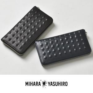 MIHARA YASUHIRO ミハラヤスヒロ 財布 長財布 本革 レザー メンズ 国産 日本製 2017 秋|sansuiya