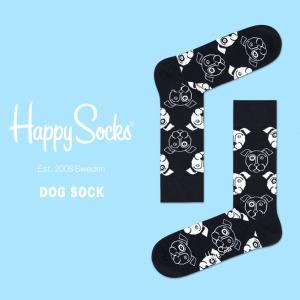 happy socks ハッピーソックス メンズ レディース 靴下 ソックス DOG SOCK 2018 春 春夏