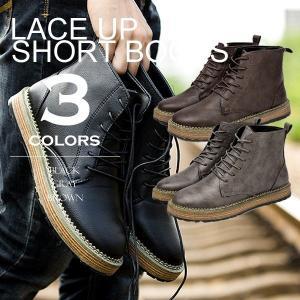 2018年秋冬の新作入荷。革靴で使用される本革を再現したレザー調の質感が秋冬にオススメのメンズ ワー...