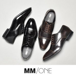 ビジネスシューズ PU革靴 メンズ MM/ONE 靴 紳士靴 結婚式 黒 茶 2018 冬 新春|sansuiya