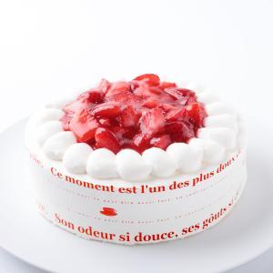 苺の生クリームケーキ6号:バースデーケーキ、誕生日・スイーツギフト:送料無料