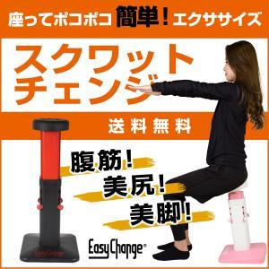 スクワットチェンジ 腹筋 美脚 スクワット 下半身 ダイエット器具 フィットネス トレーニング EasyChange|santasan