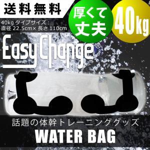 ウォーターバッグ 40kg 40L 体幹 トレーニング EasyChange 専用ポンプ付き トレー...