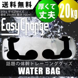 ウォーターバッグ 20kg 20L 体幹 トレーニング EasyChange 専用ポンプ付き トレー...