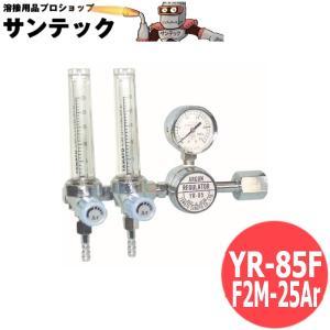 アルゴンガス調整器 流量計2連式 ヤマト産業 / YR-85F (#32059) santec1949