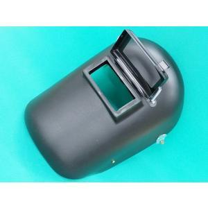 PP差込金具式ヘルメットA面 / 溶接用 黒色 (#38025)|santec1949