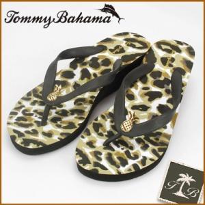 トミーバハマ/Tommy Bahama レディース ヒールビーチサンダル パイナップル(レオパード) (24.5cm)(25.5cm) セール SALE santekjp