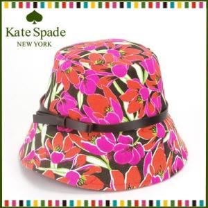 ケイトスペード kate spade 帽子 ハット Rio Tropical Floral Bucket Hat(マルチカラー×ピンク) santekjp