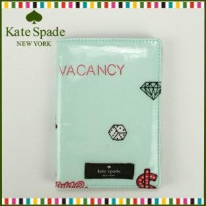 ケイトスペード kate spade パスポートケース カード(ミント)WLRU1391 974 santekjp