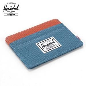 Herschel Supply Co/ハーシェルサプライ CHARLIE WALLET カードケース(ブルー×オレンジ) セール SALE santekjp