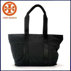 トリーバーチ Tory Burch Penn Nylon Small Zip ToteトートバッグL(BLACK/ブラック)22159563 santekjp
