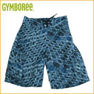 (DM便OK)Gymboree/ジンボリー ボーイズキッズ水着 スイムパンツ(ネイビーマルチチェック柄)(3歳)(7歳)|santekjp
