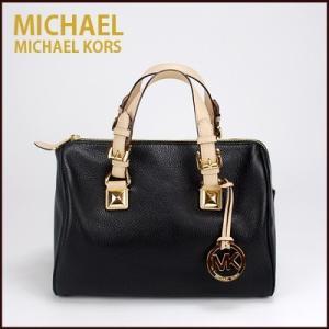 マイケルコース/MICHAEL KORS ミニボストン ハンドバッグ(ブラック)35s5ggys2lbl|santekjp