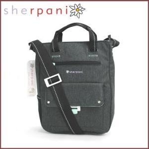 sherpani/シェルパニ  ショルダーバッグ ハンドバッグ 2way トレヴィア クロスボディ バッグ(ダークグレー)|santekjp