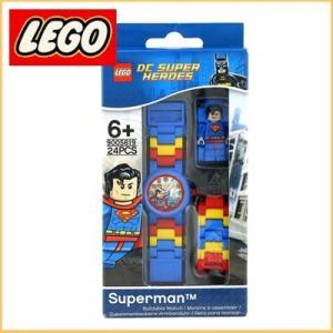 レゴ LEGO レゴブロック ユニバース スーパーヒーローズ スーパーマン プラスチック ウォッチ 9005619 santekjp