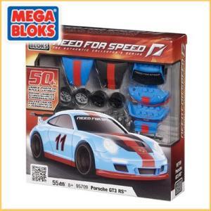 メガブロック/MEGABLOKS 95709 ニードフォースピードシリーズ Need For Speed カスタマイズ ポルシェ 911 GT3 RS santekjp