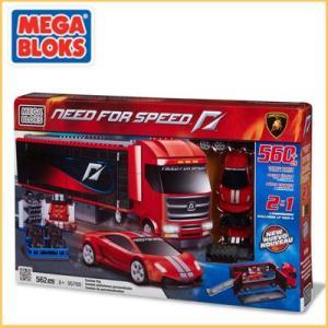 メガブロック/MEGABLOKS 95760 ニードフォースピードシリーズ Need For Speed カスタム リグ ランボルギーニ santekjp