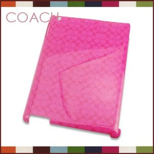コーチCOACH iPadケース ミニシグネチャー (ホットピンク)f66679hot santekjp