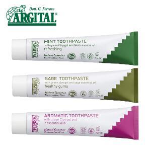 アルジタル グリーンクレイ歯みがき ミント・セージ・アロマティック 75ml アルジタル ARGITAL はみがき 歯みがき 歯磨き ハミガキ|santelabo