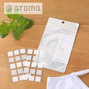アットアロマ (@aroma)  マスク用アロマシール 一袋 30枚入り | 持ち運び リフレッシュ...