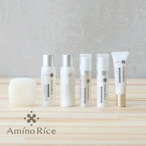 アミノリセ(AminoRice) トラベルセット 携帯用ポーチ入り / トライアル 福光屋