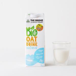 ブリッジ(THE BRIDGE) オーツドリンク  1L | 植物性ミルク オーツミルク