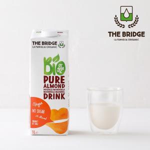 ブリッジ(THE BRIDGE) アーモンドドリンク 1L | アーモンドミルク  砂糖不使用 無添...