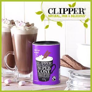 クリッパー フェアトレード ドリンキング チョコレート (clipper ホットチョコレート チョコレートドリンク ココア スイーツ フェアトレード )|santelabo