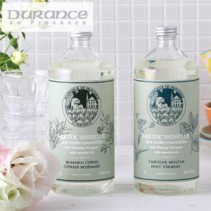 デュランス ディッシュクリーナー 食器洗い用液体洗剤 1L[ミント&ベルベーヌ サイプレス&ローズマリー]|santelabo