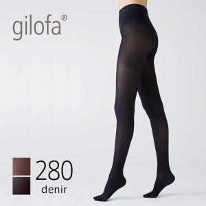 ギロファ タイツ 280デニール (GILOFA ギロファ タイツ レディース メンズ 男女兼用 着圧 医療用 弾性ストッキング 280d 足 冷え むくみ 改善 予防)|santelabo