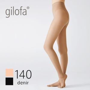 ギロファ ストッキング 140D シースルー ファイン パンスト 140D (GILOFA ギロファ ストッキング レディース メンズ 男女兼用 着圧 医療用 弾性ストッキング)|santelabo