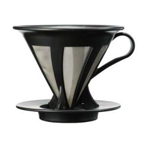 ハリオ カフェオールドリッパー02 CFOD-02-B (コーヒー 珈琲 おうちカフェ コーヒーサーバー ハンドドリップ ハンドドリッパー HARIO)|santelabo