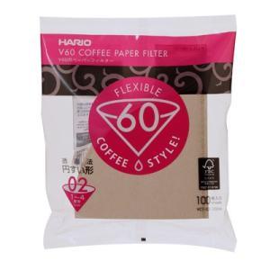 ハリオ V60用ペーパーフィルター 02M VCF-02-100M (コーヒー 珈琲 おうちカフェ コーヒー ペーパードリップ ハンドドリップ HARIO)|santelabo