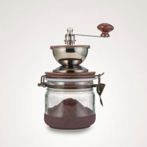 ハリオ キャニスターコーヒーミル CMHN-4 (コーヒー 珈琲 手挽きコーヒーミル おうちカフェ コーヒーサーバー ハンドドリップ HARIO 送料無料)|santelabo