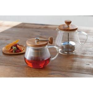 ハリオ ティオール・ウッド TEO-70-OV (HARIO TEO-70-OV お茶 紅茶 ハーブティー 日本茶 送料無料)|santelabo