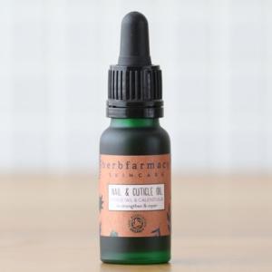 ハーブファーマシー ネイル アンド キューティクルオイル 12ml(マッサージ 乾燥 ささくれ 爪 指 イギリス オーガニック 正規品 herbfarmacy) santelabo