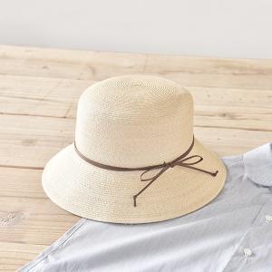 石田製帽 マニラ麻555 バケツワックスコード(B02-009 石田製帽 DAY STROWS レディース uv つば広 帽子 ストローハット バケット 麦わら帽子 2015SS)|santelabo