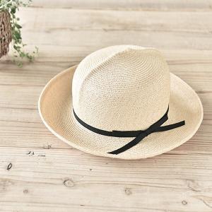 石田製帽 マニラ麻665 オプティモ(B003-011 DAY STROWS レディース uv つば広 帽子 ストローハット バケット 麦わら帽子 2015SS)|santelabo