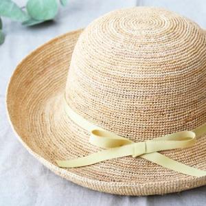 石田製帽 キャプリス(BC-004 石田製帽 DAY STROWS レディース uv つば広 帽子 ラフィア 麦わら帽子)|santelabo|06