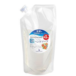 リマナチュラル 泡ハンドソープ 詰め替え用 250ml (ポンプ式 ハンドソープ 椿油 低刺激)