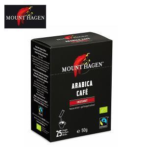 マウントハーゲン(MOUNT HAGEN) オーガニック フェアトレード インスタントコーヒー 50...
